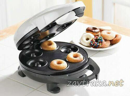 Прибор для приготовления пончиков.