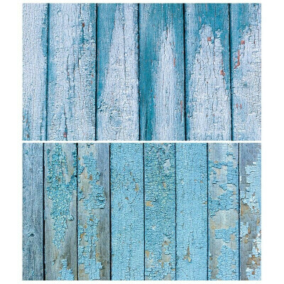Студийный фон для фото, текстурный бумажный фотофон (Две текстуры 2 в 1) 57×87 см Дерево 4