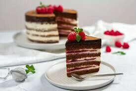 Торт/ десерт без молочки и глютена сахара приготовленный самостоятельно