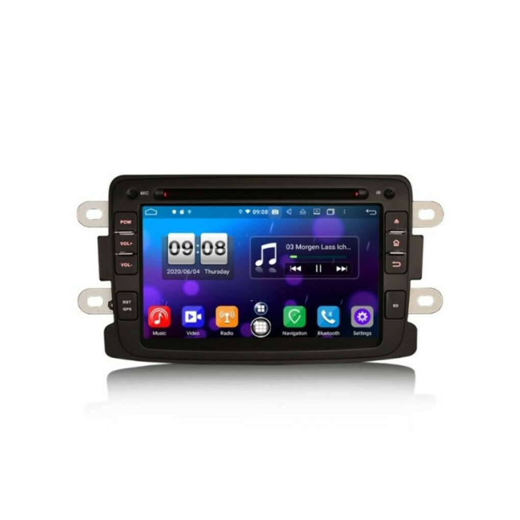 "ERISIN ES8783D 7"" RENAULT DACIA PX5 ANDROID 10.0 CAR STEREO CARPLAY & AUTO GPS 4G DAB+ DSP FOR DUSTER LOGAN DOKKER LODGY"