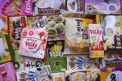 Японские/корейские сладости/снеки/приправы/т.п.