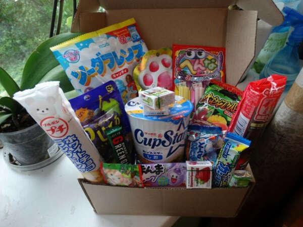 Посылок сладостей из японии с сайта jcandy.ru