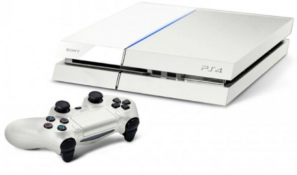 PlayStation 4 white