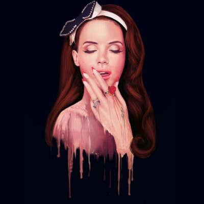 На концерт Lana Del Rey