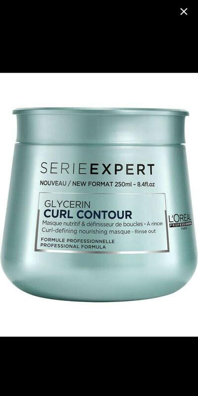 Маска Serie Expert CURL CONTOUR для интенсивного питания волос, 250 мл, L'Oreal Professionnel