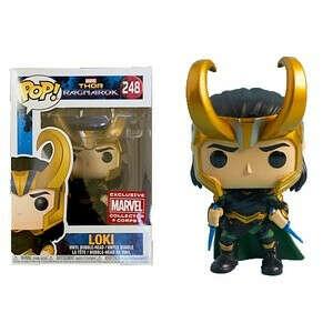 248. Loki with Helmet / Локи в шлеме