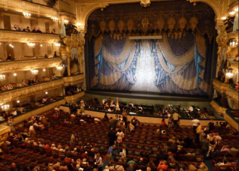Посетить Мариинский театр