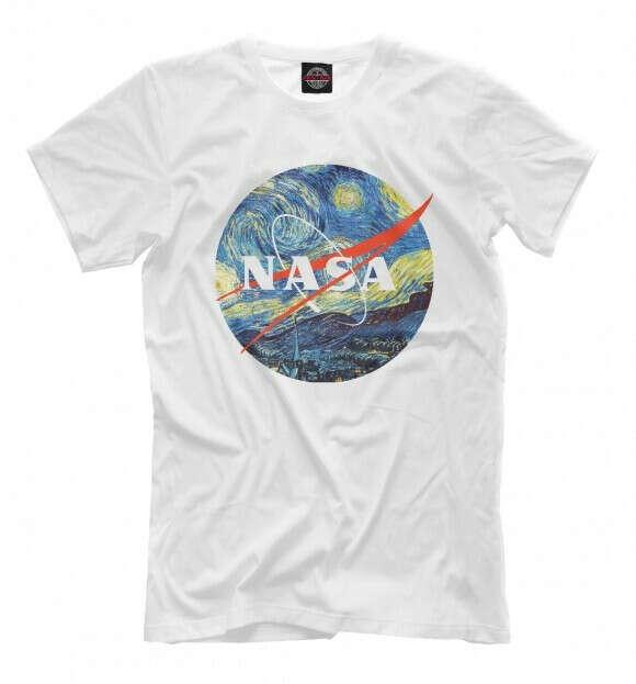 Футболка NASA + Van Gogh
