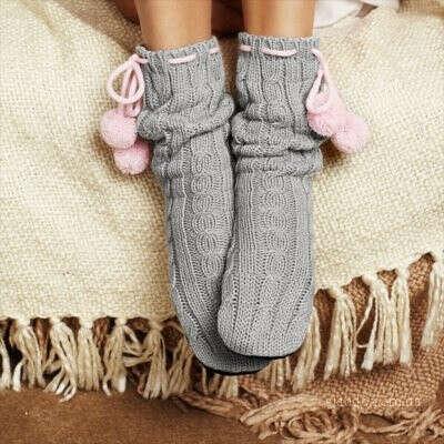 Домашние тапочки-носочки