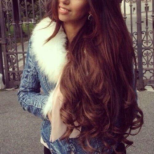 длинные и шикарные волосы