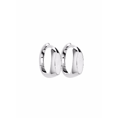 Серьги-печатки Brevis из серебра, из коллекции J2000.0