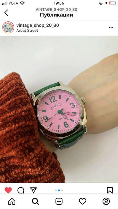 Винтажные часы Joan rivers