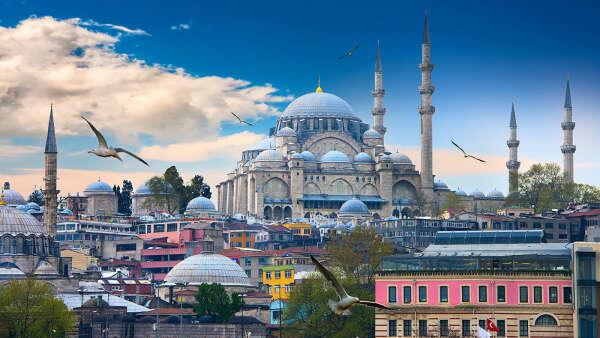 путешествие в город-души Стамбул