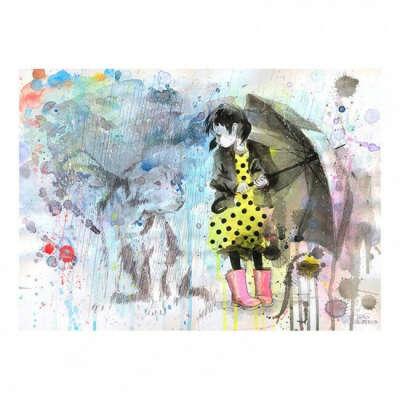 Постер Rain Dog А3