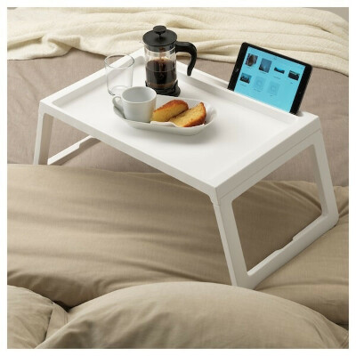 КЛИПСК Поднос на ножках - белый - IKEA