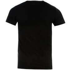 Черные футболки БЕЗ ПРИНТА M/L