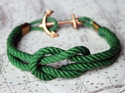 браслет в морской тематике