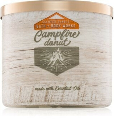 Bath & Body Works Campfire Donutscented candle II.