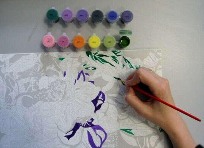 Нарисовать картину по точкам