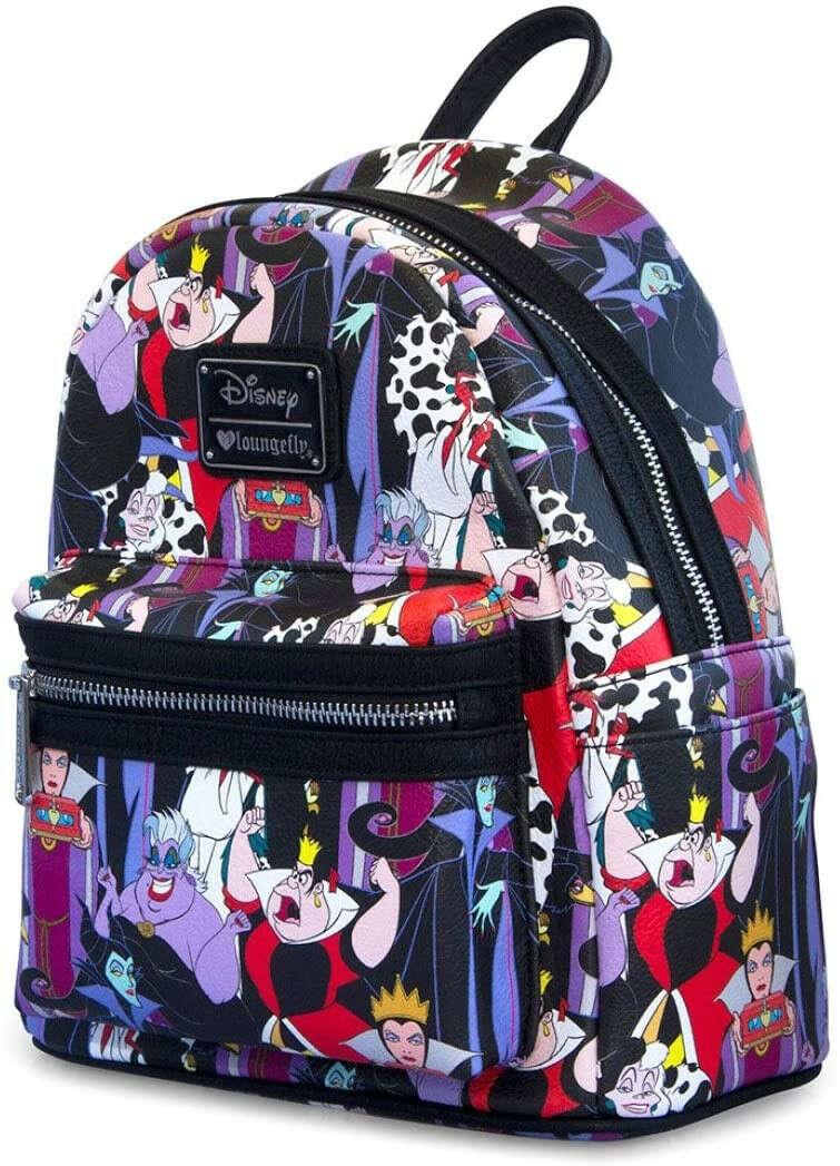 Прекрасный рюкзак с злодеями :3