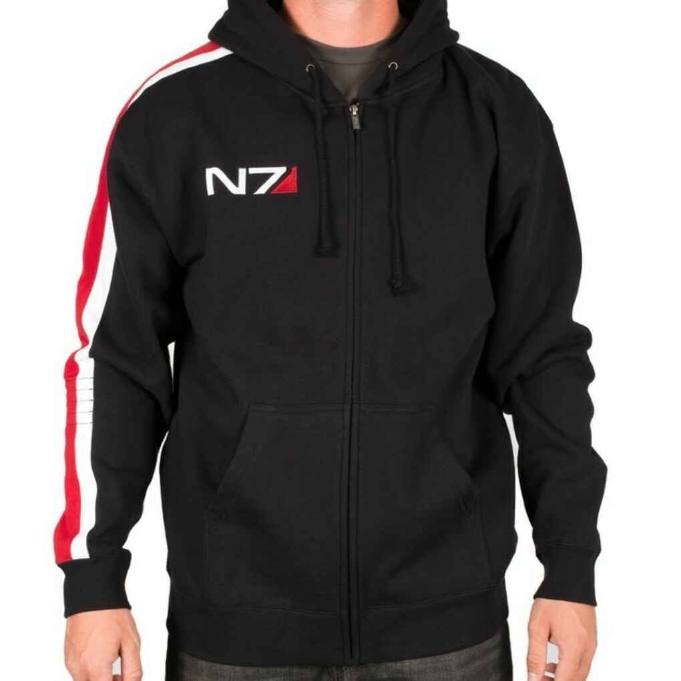 Толстовка N7 Armour Stripe MK-II Mass Effect Масс Эффект Купить в магазине G4SKY.ru
