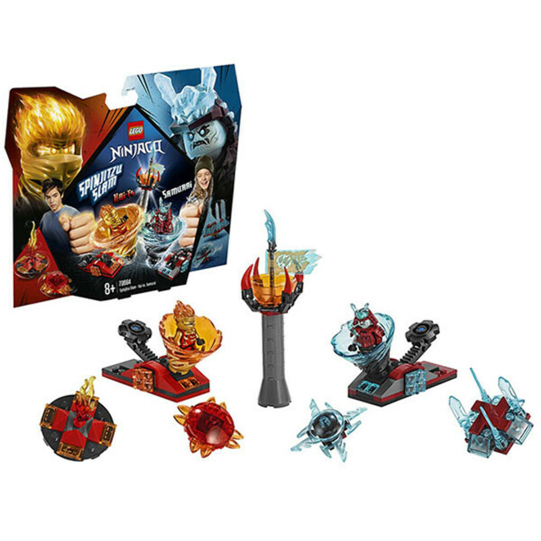 Купить конструктор Lego Ninjago 70684 Лего Ниндзяго Бой мастеров кружитцу - Кай против Самурая в интернет магазине Toy.ru