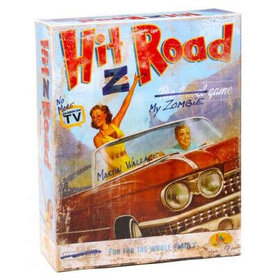 Настольная игра Зомбистопом по Америке (Hit Z Road)
