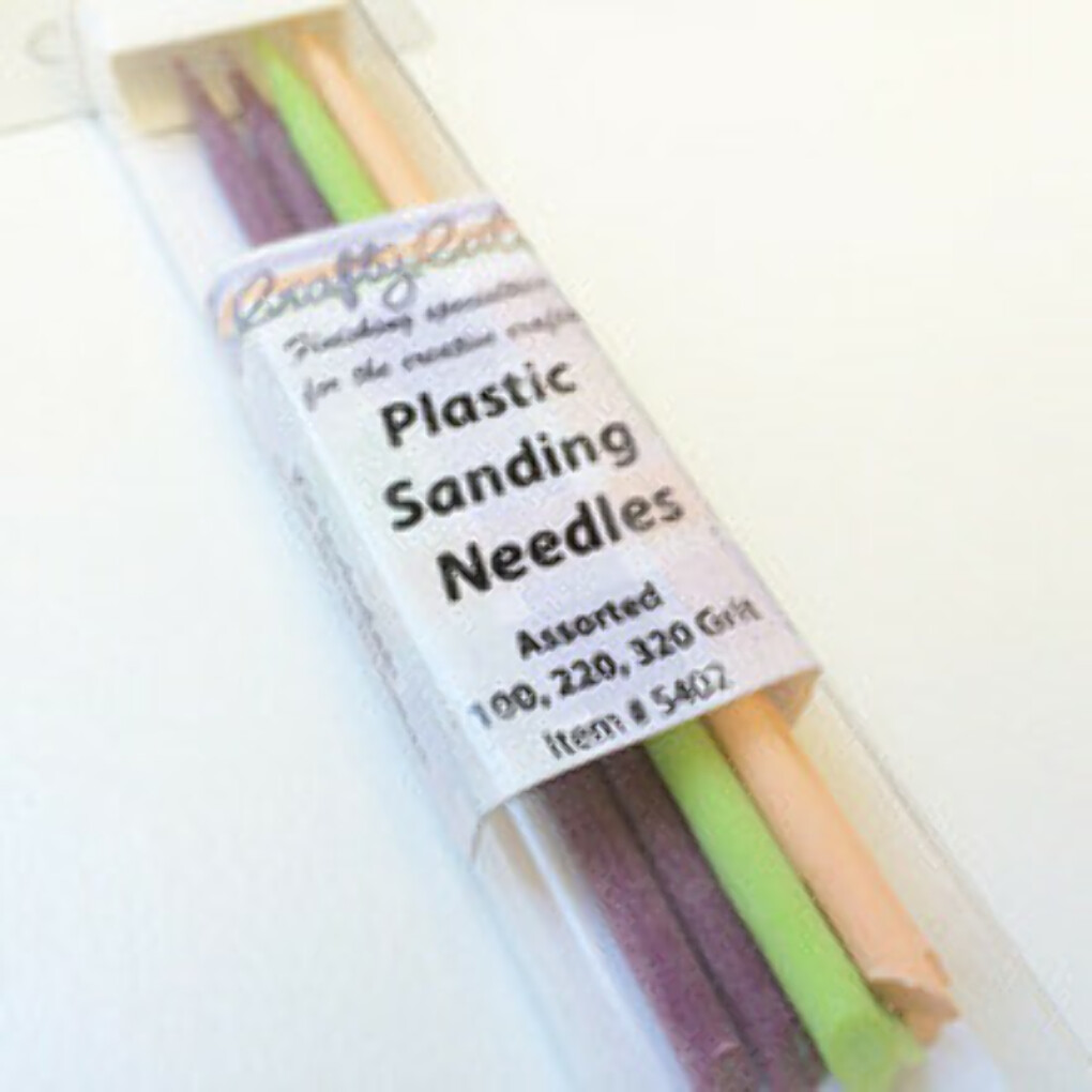 Plastic sanding Needles - Assorted Selection Pack - Crafty Cat