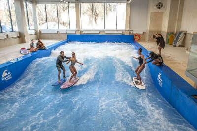 Flow Moscow — профессиональная волна для серфинга