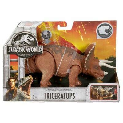 Фигурка Jurassic World Динозавр Трицератопс FMM24