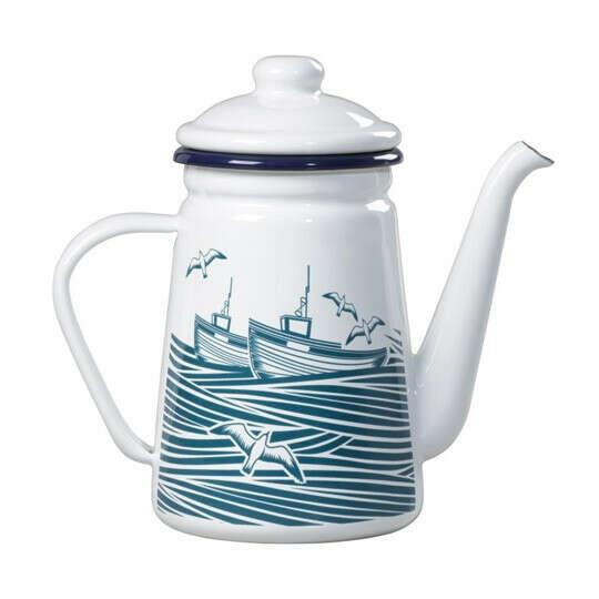 Кофейник эмалированный Sea Story