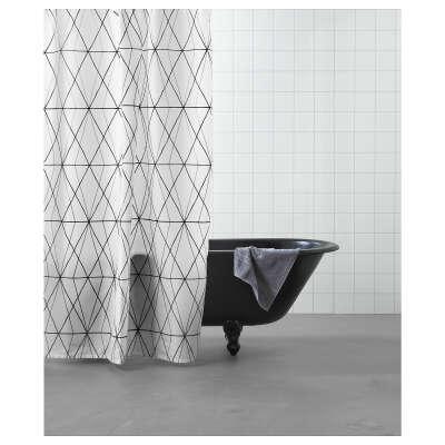 ФЁЛЬЙАРЕН Штора для ванной   - IKEA