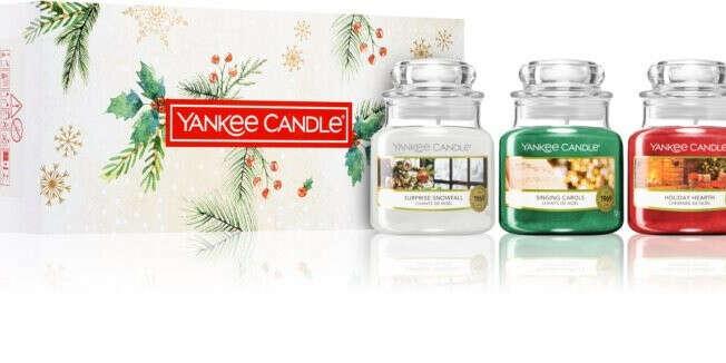 Yankee candle Magical Christmas Morning набор