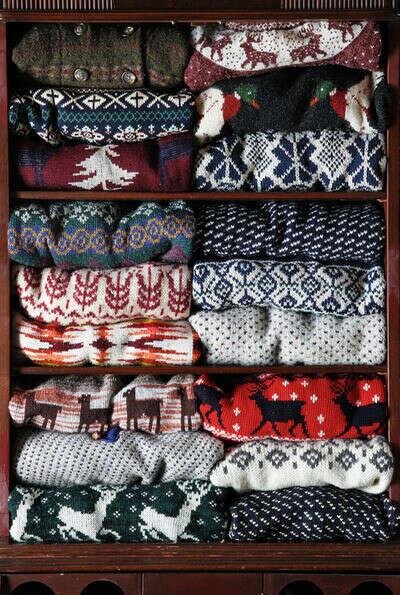 Много теплых свитеров