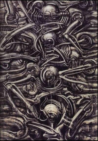 Альбом Ганса Р. Гигера