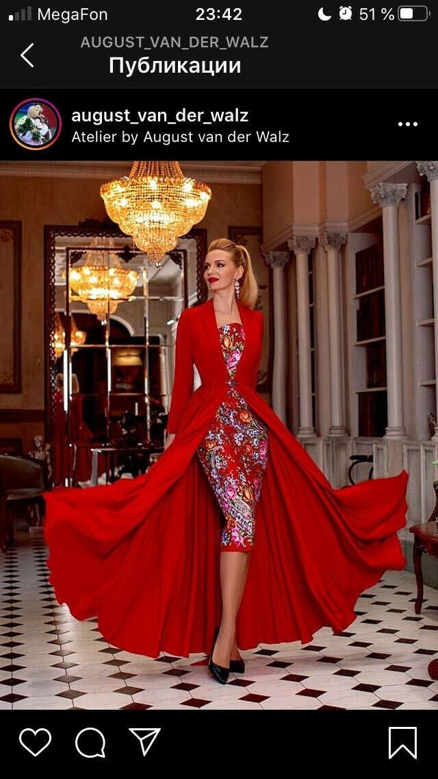 Платье от August & Walz