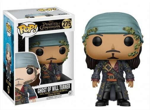 FUNKO Pop! Disney: Pirates of the Caribbean - Ghost of Will Turner / Фигурка Фанко Поп! Дисней: Пираты Карибского моря - Призрак Вилл Тернер