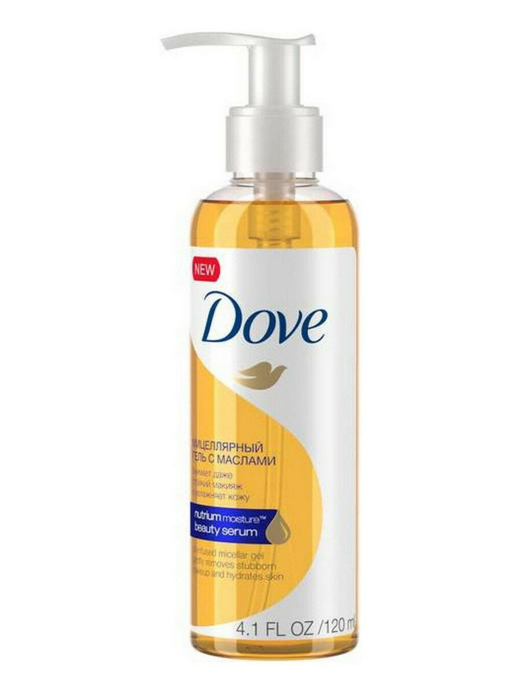 Dove мицелярное масло