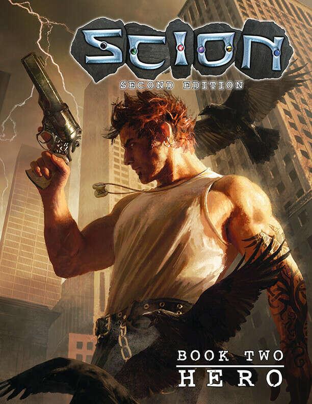 Scion Second Edition Book Two: Hero - Onyx Path Publishing   Scion   Scion 2nd Edition   DriveThruRPG.com