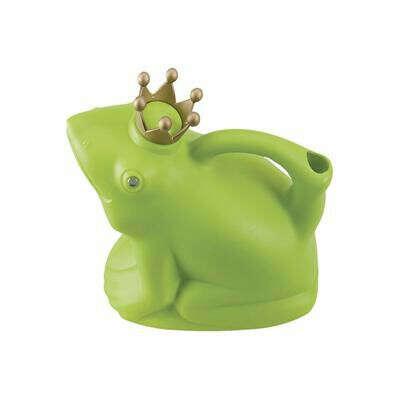 Esschert Design Watering Can - Frog Prince Green