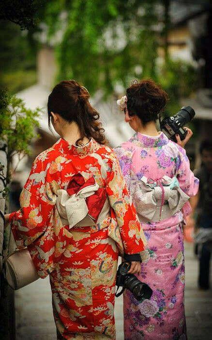 Фотосессию в кимоно