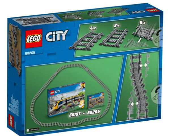 City 60205 Рельсы