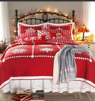 Рождественское постельное