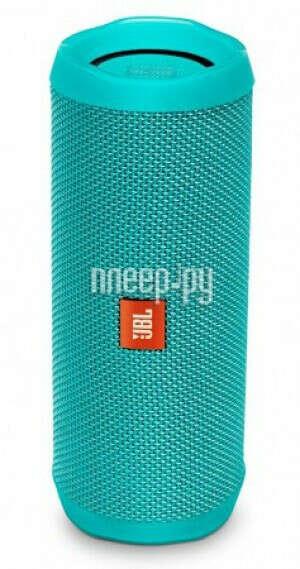 Купить Портативная колонка JBL FLIP 4,  16Вт, синий по выгодной цене в интернет-магазине СИТИЛИНК