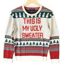 уродливый рождественский свитер короче