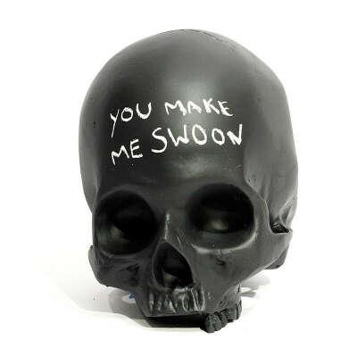 Homo Sapien Chalkboard Skull – The Colossal Shop