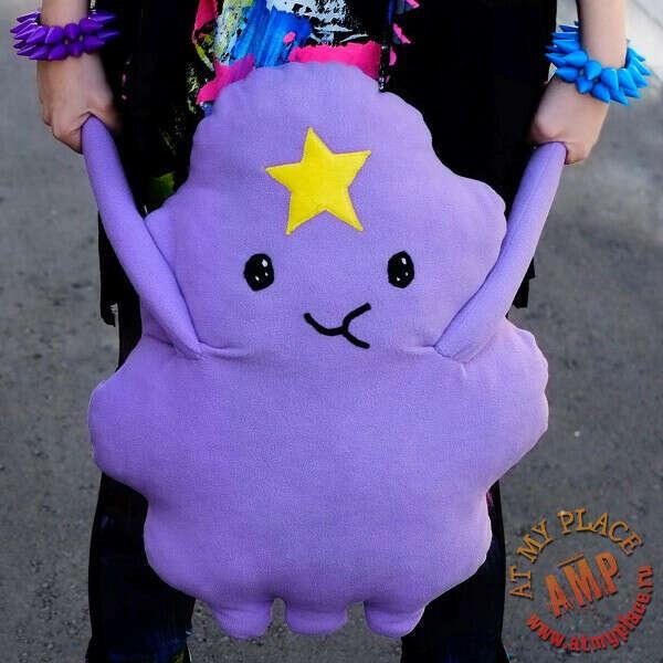 """Подушка-игрушка """"Принцесса Пупырка"""" - Adventure Time"""