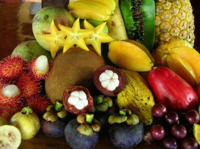 Поесть экзотических фруктов