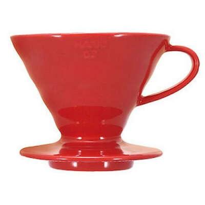 Воронка для пуровера VDC-01R, красная, керамика, Hario