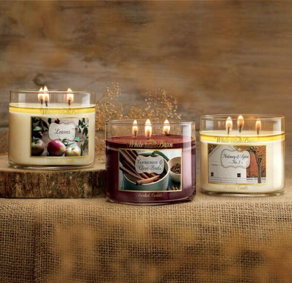 Ароматические свечи от Bath&Body Works